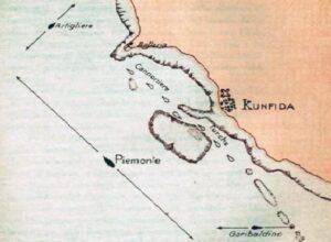 Davanti a Kunfida - carta della battaglia